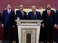 'Cumhur ittifakı' Yasa Teklifi Meclis Başkanlığı'na Sunuldu