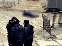 Kudüs'teki Eylemde Bir Siyonist Asker Ağır Yaralandı