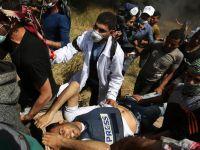 Filistinli Gazetecide Şehit Oldu