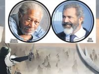 Mel Gibson ile Morgan Freeman Kerbela Filminde Oynayacak
