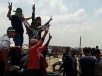 Gazze Sınırında İsrail Terörü Sürüyor
