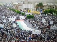 Yemen Halkı: Asıl Düşman İsrail'e Karşı Filistin'in Yanındayız