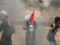 Siyonistler Gazze'yi Vurdu Şehitler Var