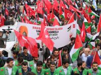 İstanbul'da Filistin Direnişine Destek Yürüyüşü (FOTO)