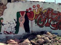 Suriye'den Kudüs ve Gazze'ye Grafiti Desteği