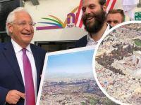 İsrail Büyükelçisinden İşgal Pozu