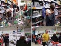 İrlanda'da  İsrail Ürünleri Protesto Edildi
