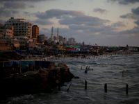 İsrail Gazze Şeridi'nin Deniz Sınırına Set Çekmeye Başladı