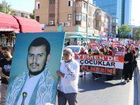 İstanbul'da Yemen'e Destek Eylemi