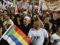 Telaviv'de Protesto Gösterisi