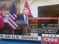 CNN: Türkiye ABD Borsasını Batırdı