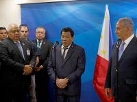Filipinler Başkanı, İsrail'e Teslim Oldu