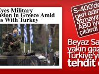 Türkiye'ye Karşı Yunan Askerine Destek