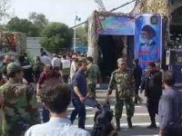 İran'da  Askeri Geçit Töreninde Saldırı (Video)