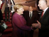 İsrail'e giden Merkel'den Yapay Zeka Anlaşması
