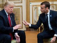 Trump Fransa'ya Saldırdı...  Büyük Kavga