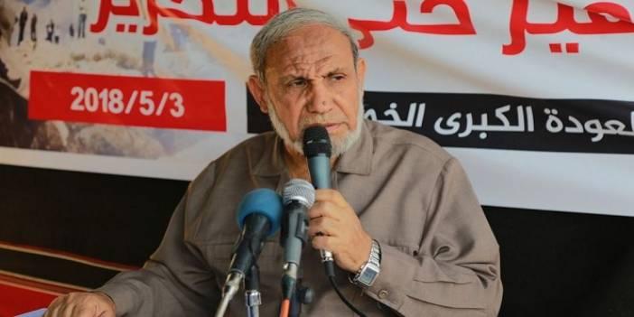 Mahmut Zahar: Yeni Bir Plana İhtiyacımız Var