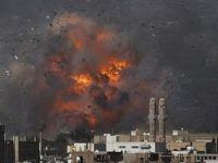 Suud Yemen'de Tahıl Silolarını Bombaladı