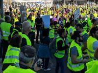"""""""Sarı Yelekliler"""" İsrail'de"""