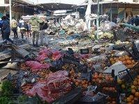 Afrin'de Pazar Yerinde Patlama