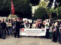 """Adana'da Yemen Eylemi; """"Yemen'de Çocuklar Ölmesin"""""""