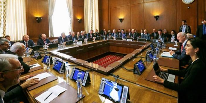 Cenevre'de Suriye Toplantısı Yapıldı