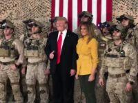 """Trump'ın Irak Ziyaretine """"Zaafiyet"""" Eleştirisi"""
