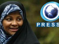 ABD'de Müslüman TV Sunucusu Gözatında
