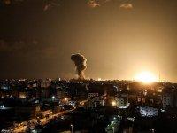 İşgalci, Gazze'ye Saldırdı