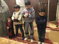 Yüzlerce Filistinli Akın Etti