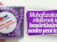 CHP Tespih Dağıttı