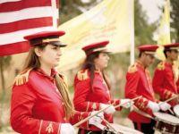 PKK'nın ABD Bayraklı Bando Takımı (FOTO)