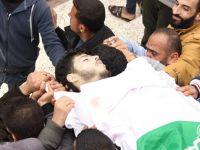 Gazze'de Gece Eylemlerinde Bir Genç Şehid Oldu