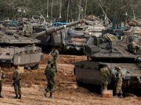 Siyonistler  Gazze Sınırına  Asker Yığıyor (FOTO)