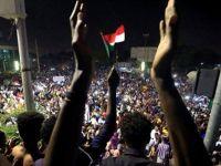 Sudan'da Sisi Karşıtları Eylem Yaptı