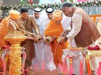 BAE'de  Hindu Tapınağı Kuruluyor !