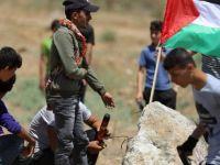 Gazze'de  Gösteri Düzenlendi