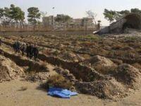 Rakka'da Toplu Mezarlar; 5 Bin Ceset
