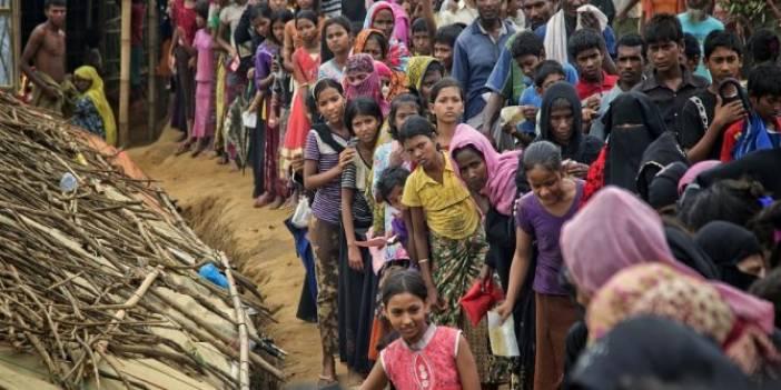 Arakanlı Müslümanların Kaldığı Kamplarda Kovid-19 Salgını