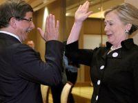 Davutoğlu'nun Clinton ile yaptığı 'çak' tır