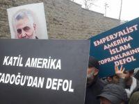 ABD İstanbul Konsolosluğu Önünde Protesto (FOTO)