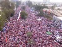 Irak'ta Milyonlar Esti Gürledi: ABD Defol!