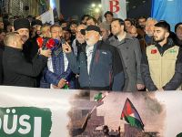 Hamas Sözcüsü İstanbul'daki Eyleme Katıldı