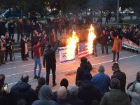 Sakarya'da Filistin Eylemi