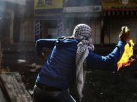 Siyonist Asker Alevler İçinde Kaldı (VİDEO)