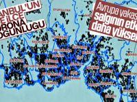 İstanbul'da Koronavirüsün Yoğun Yaşandığı İlçeler