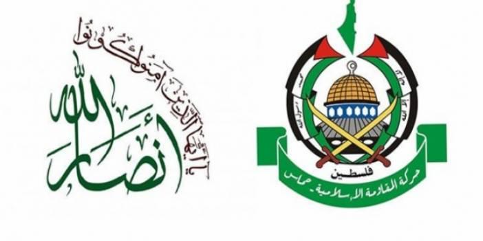 Hamas'tan Ensarullah'a Mesaj