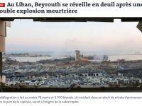 Dünya Basınında Lübnan'daki Patlama