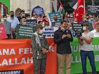 Peygambere Sadakat ve Arap Rejimlerini Protesto Gösterisi Düzenlendi