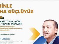 AK Parti'den Üyelik Kampanyası